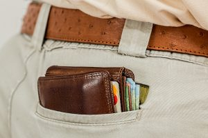 Credit Cards - Man with Wallet